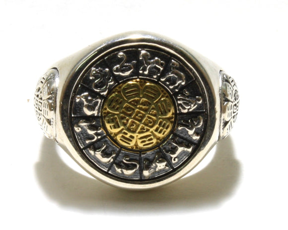 Chinese Zodiac Spinner Ring
