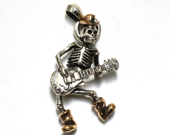 Dancing Skeleton Pendant