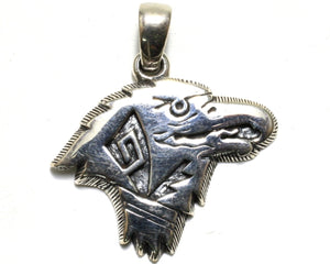 Native American Eagle Pendant