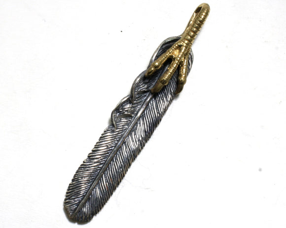Feather and Claw Pendant