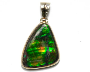 Fire Opal Pendant (large)