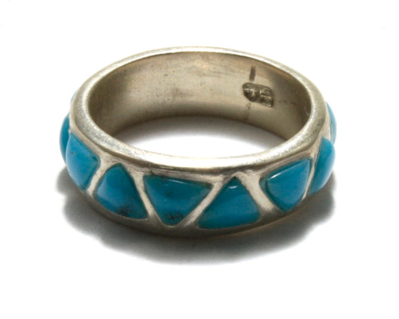 Turquoise Triangle Band