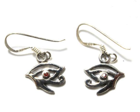 Eye of Horus with Gem Earrings