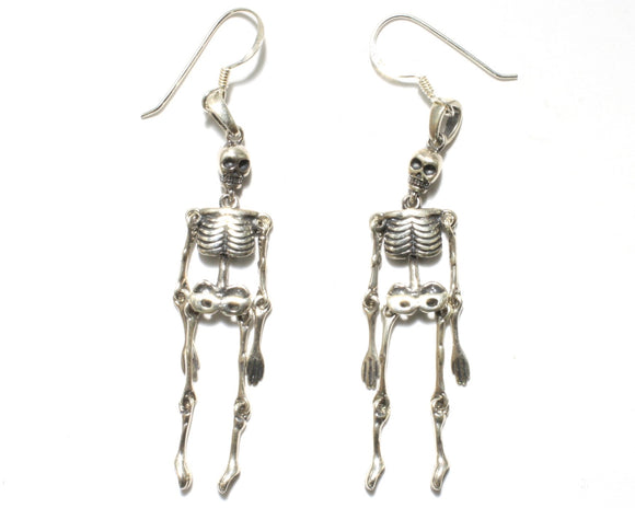 Movable Skeleton Earrings