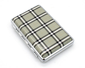 Plaid Cigarette Case