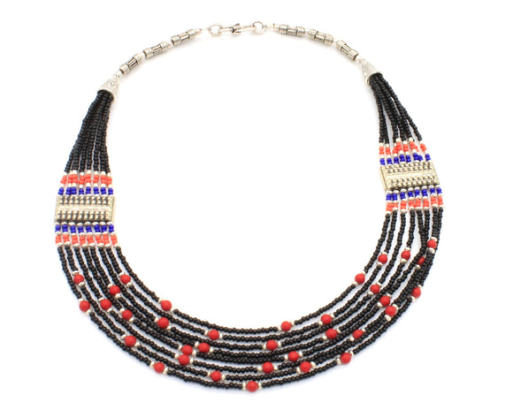 Nepalese Beaded Necklace