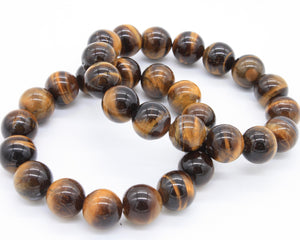 Tiger's Eye Beaded Bracelet