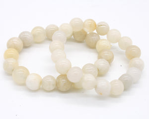 Calcite Beaded Bracelet