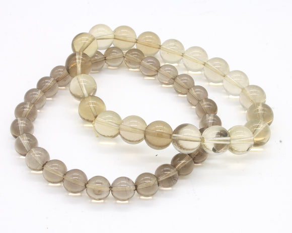 Smokey Quartz Beaded Bracelet