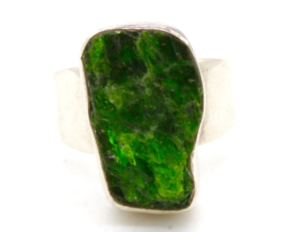 Russian Diopside Stone Ring