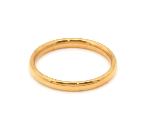 Gold Plated Pinky Ring