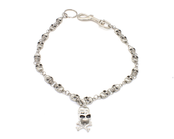 Skull and Bones Wallet Chain