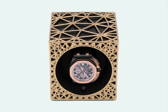 ADATTE DESIGN X SWISS KUBIK VORONOI WATCH WINDER