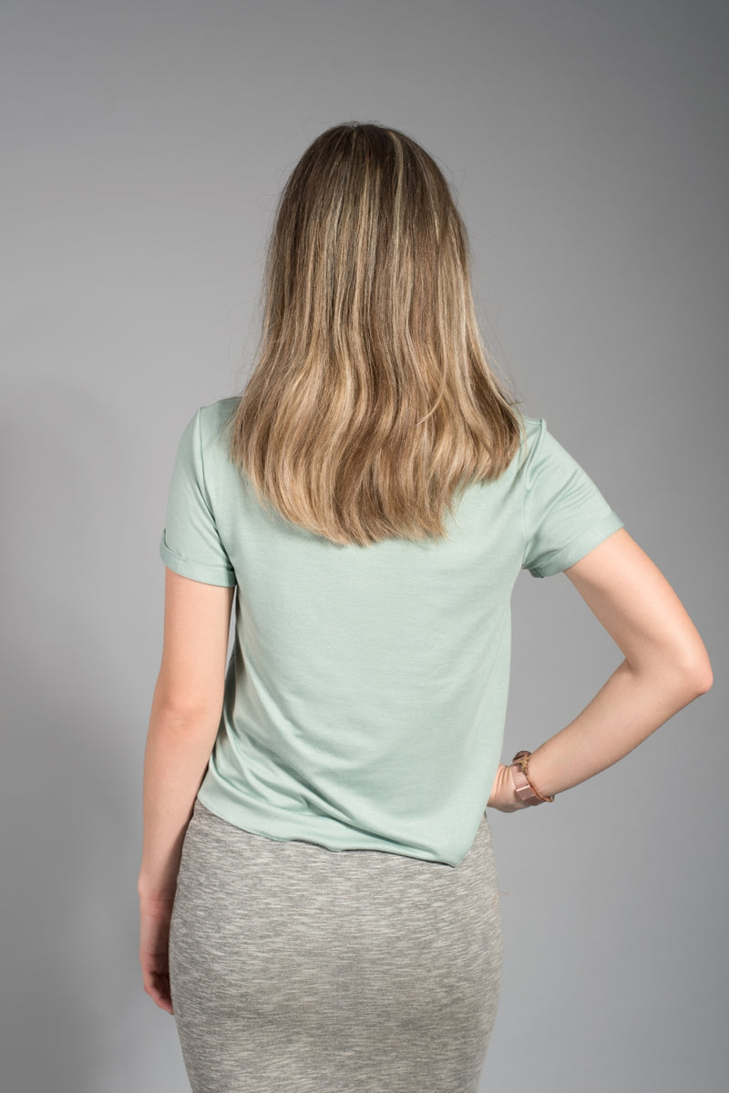 Dusty Mint Top