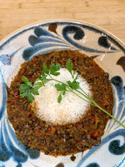 Tamarind Curry Lentils & Pepper Soup