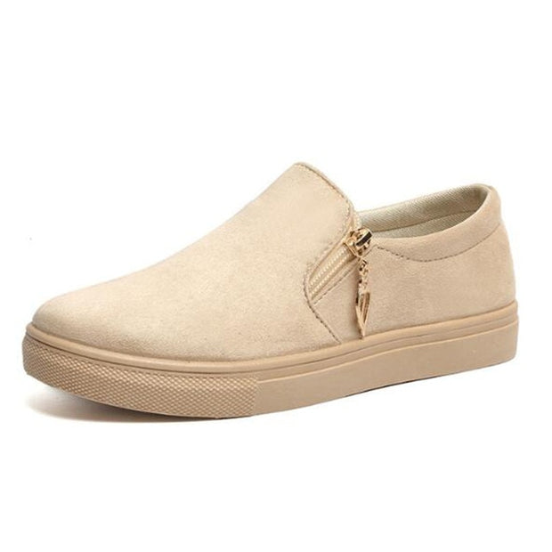 Casual Suede Spring Shoes