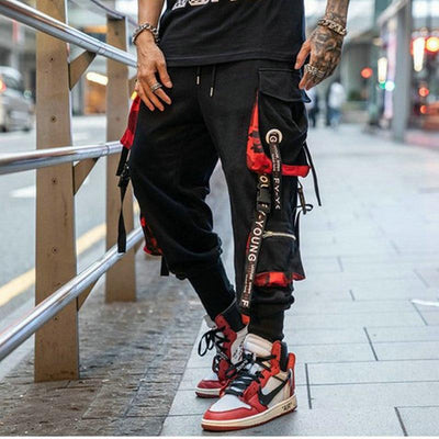 Red Camo Joggers