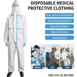 FDA Ce Certification Sterile Safety Waterproof Hospital Surgical Antivirus Disposable Coverall Protective Medical Clothing