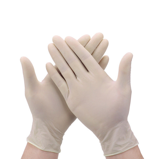 100 Pcs Disposable Gloves Nitrile Latex Sterile Protective Gloves - OsirisPPE Personal Protective Equipment