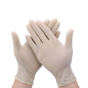 100 Pcs Disposable Gloves Nitrile Latex Sterile Protective Gloves - OsirisPPE