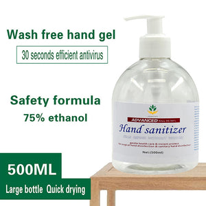 500ML Hand Sanitizer Gel Quick-dry Waterless Wash 75% Alcohol - OsirisPPE Personal Protective Equipment