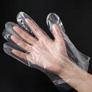 100 Pcs Disposable Nitrile Gloves Latex Sterile Protective - OsirisPPE Personal Protective Equipment