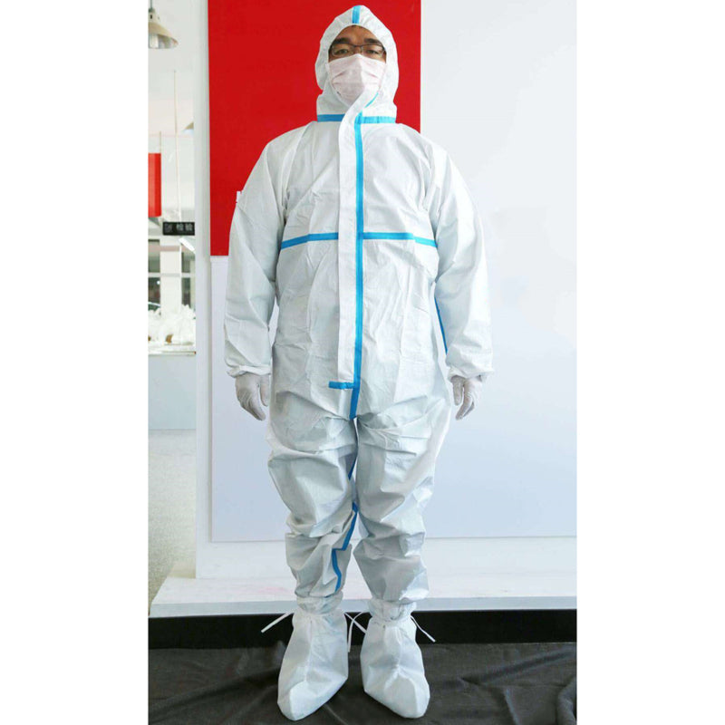 1PC Sterile  Breathable Coverall Hooded with Boots - OsirisPPE