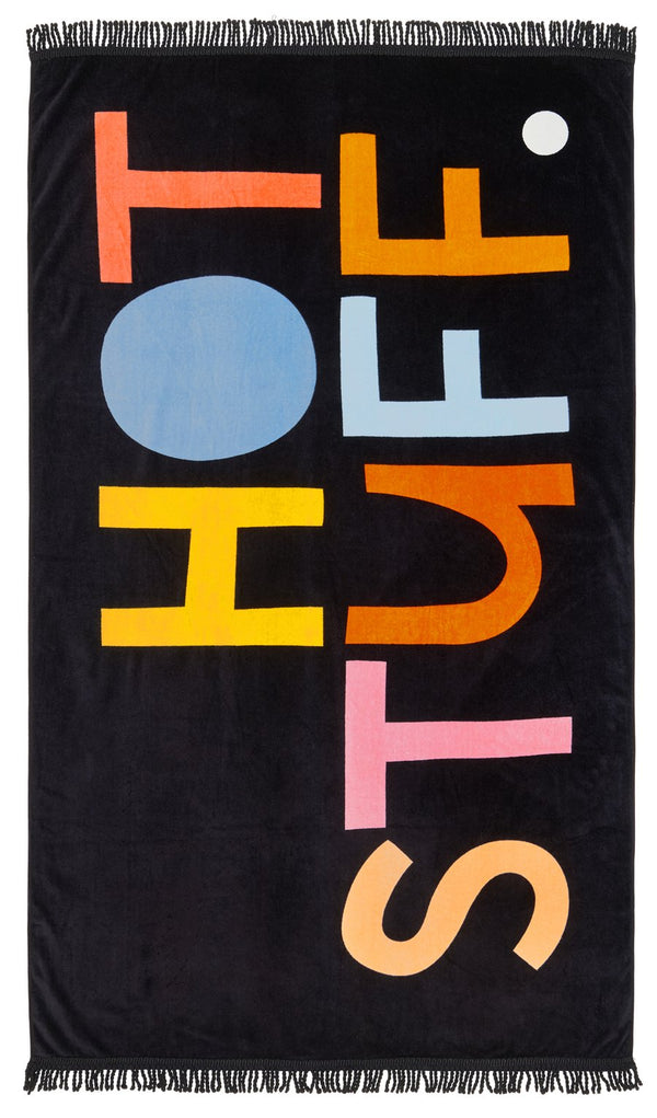 Hot Stuff Beach Towel