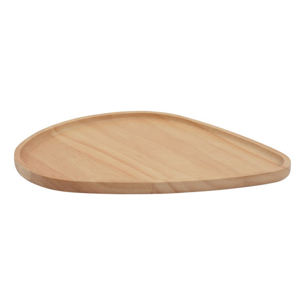 Soma Wooden serve plate 28 x 30cm