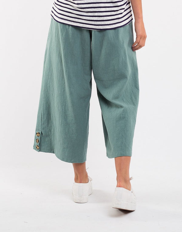 Lazy Days Pant. Green