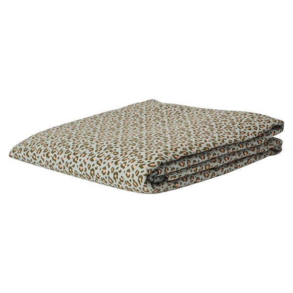 Ajo Linen Fitted Sheet Queen- Saltbush
