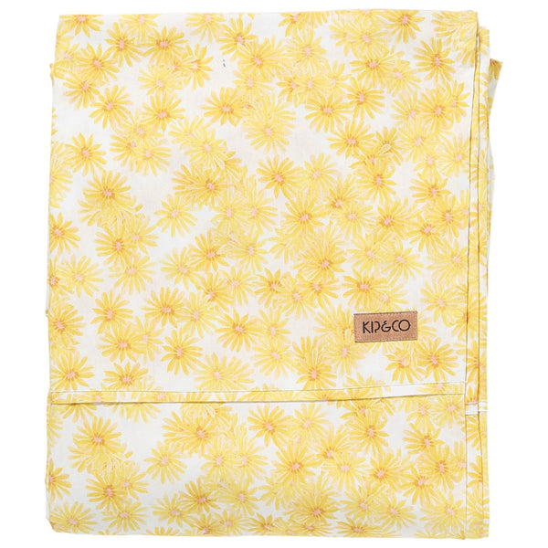 Forget Me Not Cotton Fitted Sheet- Queen