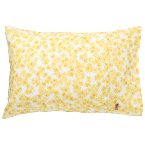 Forget Me Not Cotton Pillowcases- 2Pce