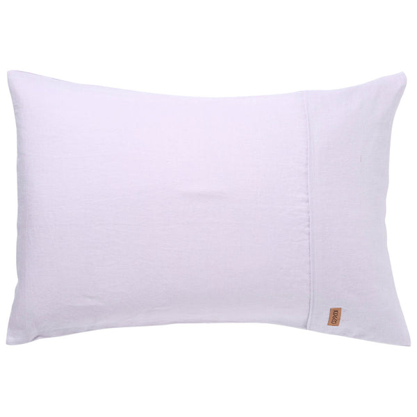 Lavender Linen Pillowcases- 2Pce