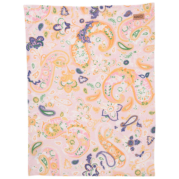 Paisley Linen Tea Towel