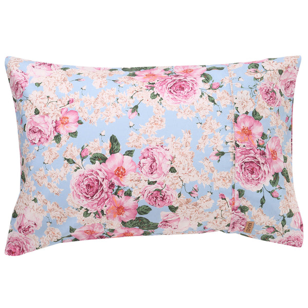 Peony Cotton Pillowcases- 2Pce
