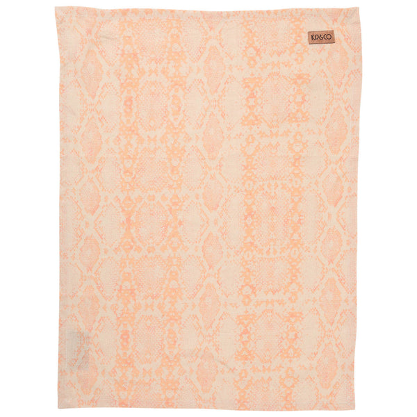 Serpent Linen Tea Towel