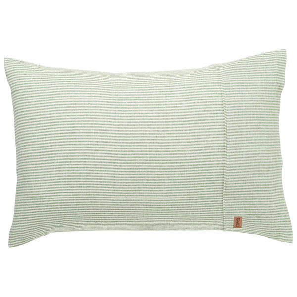St Barts Stripe Linen Pillowcases- 2Pce