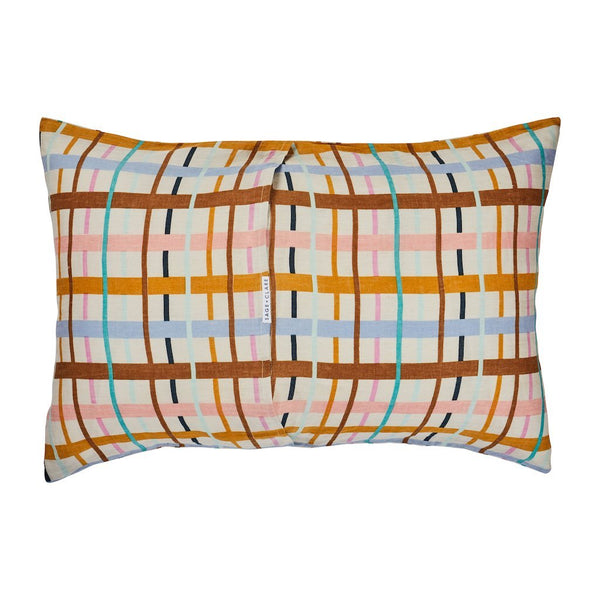 Cady Check Linen Pillowcase Set