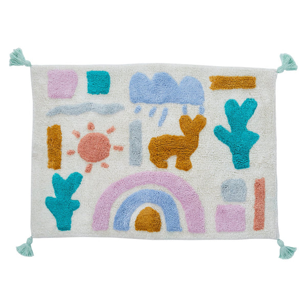 Hopi Tufted Bath Mat