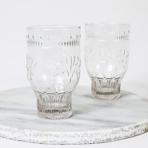 Seville Tall Tumbler- Clear