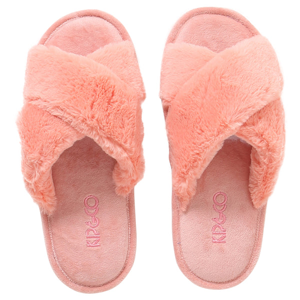 Blush Pink Womens Slippers
