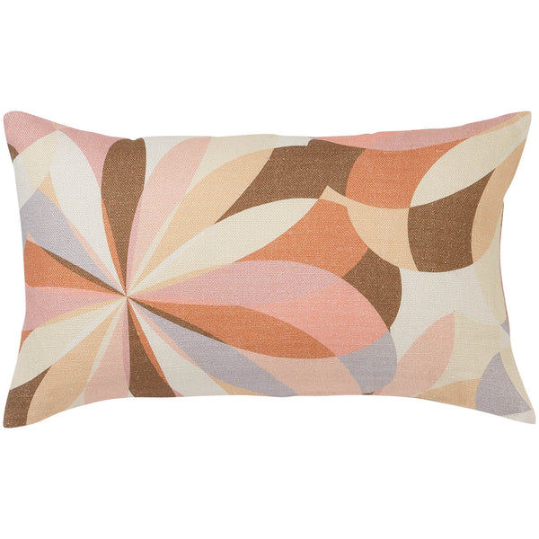 Kaleidoscope Upholstery Lumbar Cushion