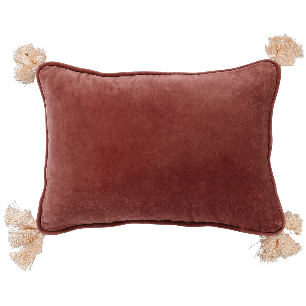 Marsala Velvet Souk Cushion