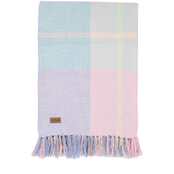 Tartan Shoreline Fringe Throw
