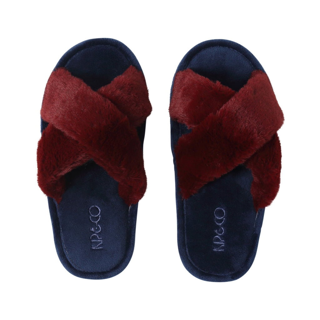 Midnight Merlot Womens Slippers