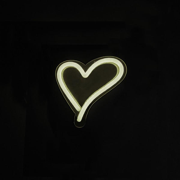 """Its a Little Neon Love"" Neon Light Cool White"