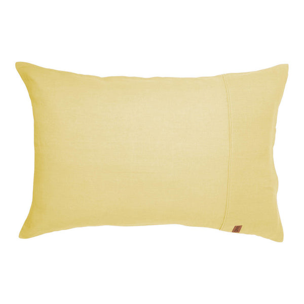 Lemon Meringue Linen Pillowcase 2Pce Set