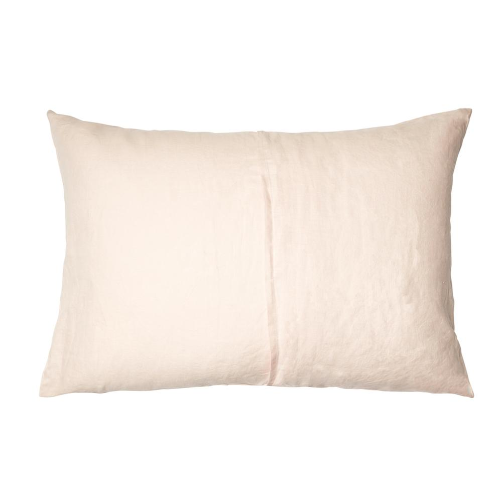 Linen Standard Pillowcase Set Blush