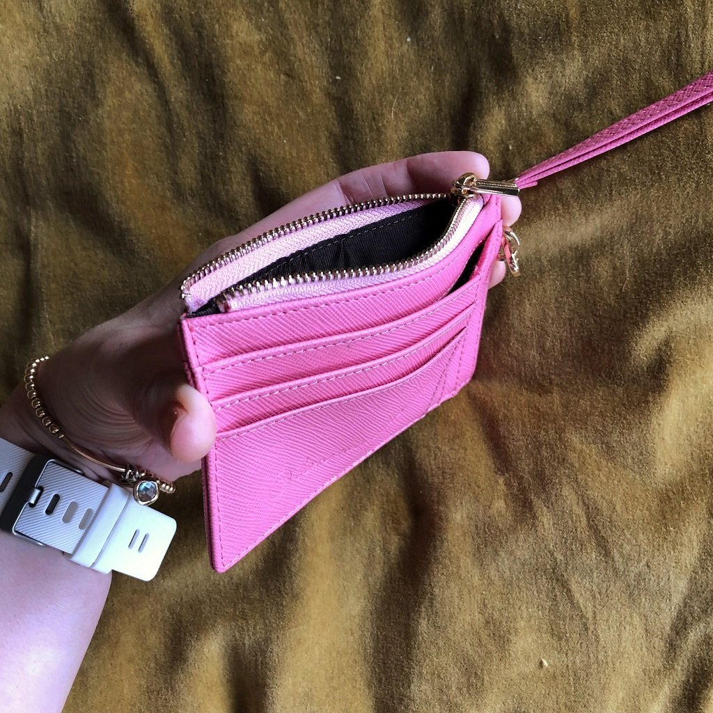 Mighty Mini Wallet. Pink